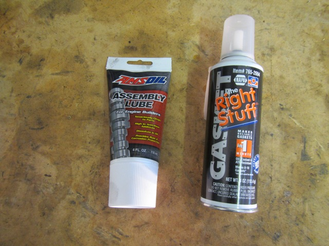AMSOIL Assembly Lube & Great Stuff