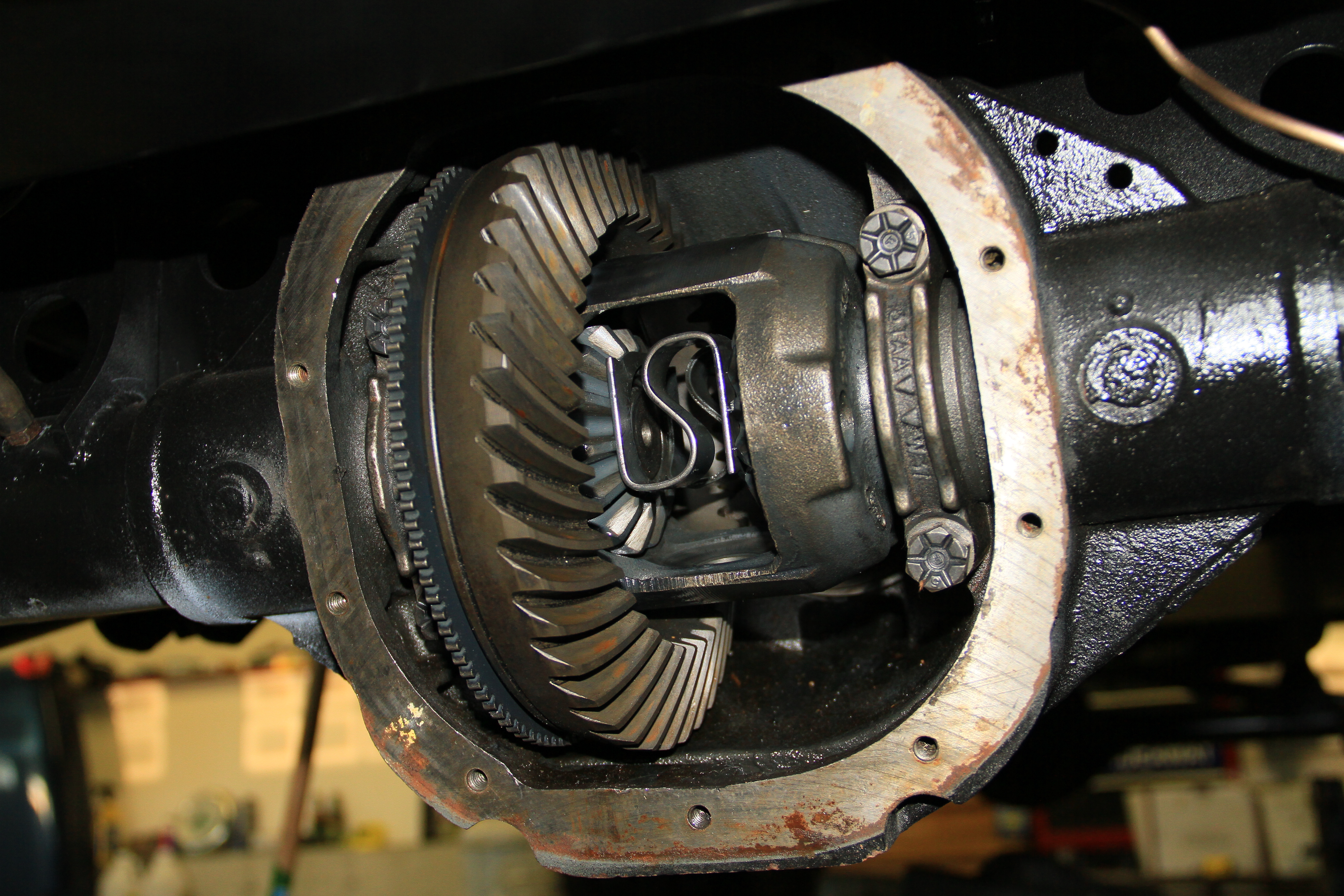 rebuilding a differential video